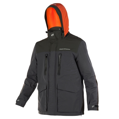 Picture of Brand Jacket DARK GREY