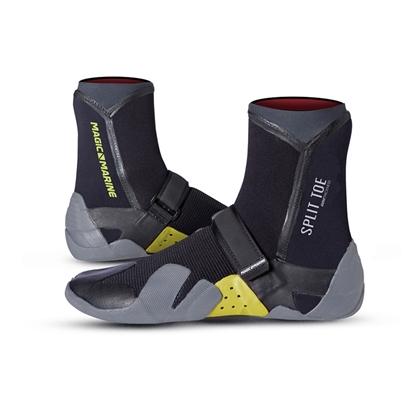 Picture of Split Toe Boot Black