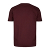 Picture of Brand T-Shirt Oxblood Red