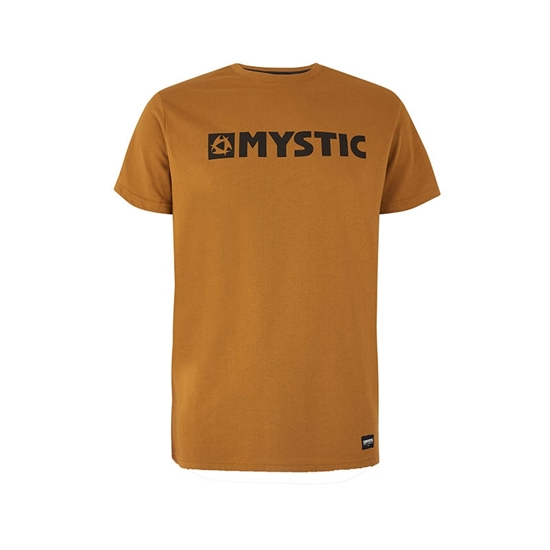 Picture of Brand T-Shirt Golden Brown