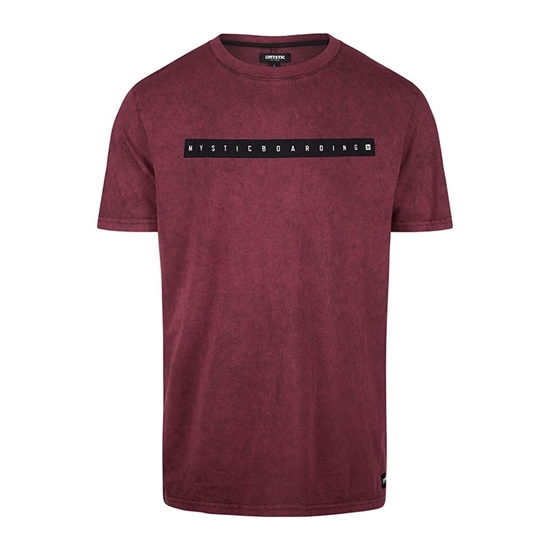 Picture of Flint T-Shirt Oxblood Red