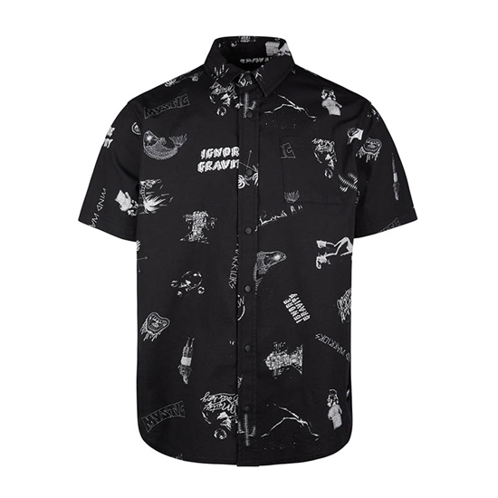 Picture of Party Shirt Black/White