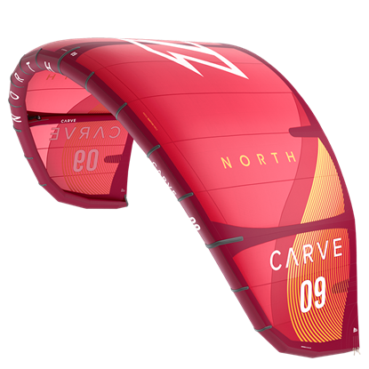 Picture of Kite Carve Sunset Red