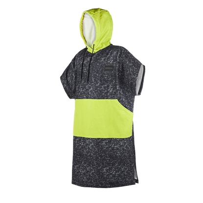 Picture of Poncho Allover Black/Lime