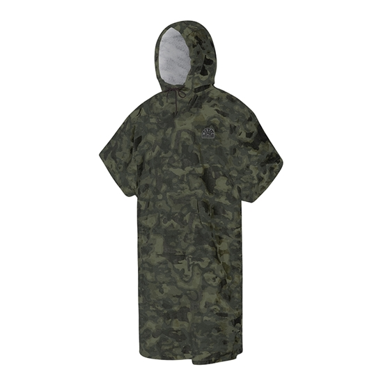 Picture of Poncho Velour Camouflage
