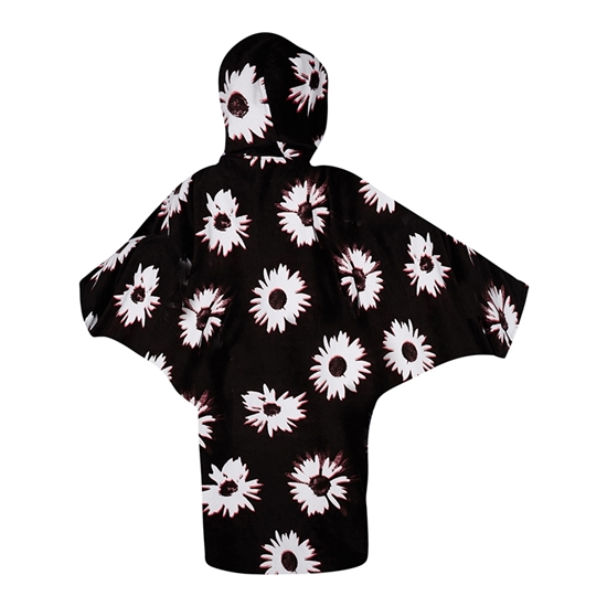 Εικόνα από Poncho Ladies Black/White