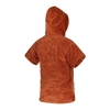 Picture of Poncho Teddy Kids Rusty Red