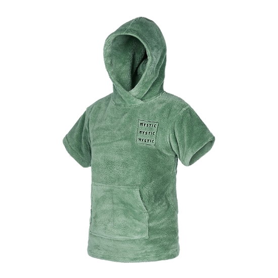 Picture of Poncho Teddy Kids Sea Salt Green