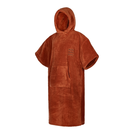 Picture of Poncho Teddy Rusty Red