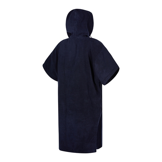 Picture of Poncho Velour Night Blue