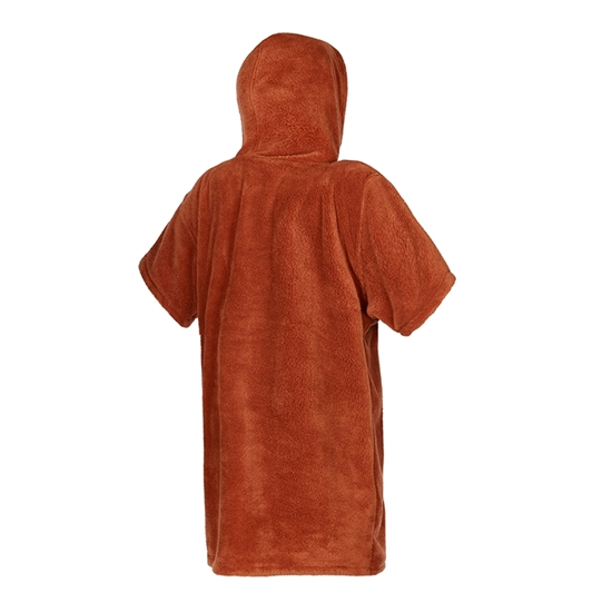 Picture of Poncho Teddy Junior Rusty Red