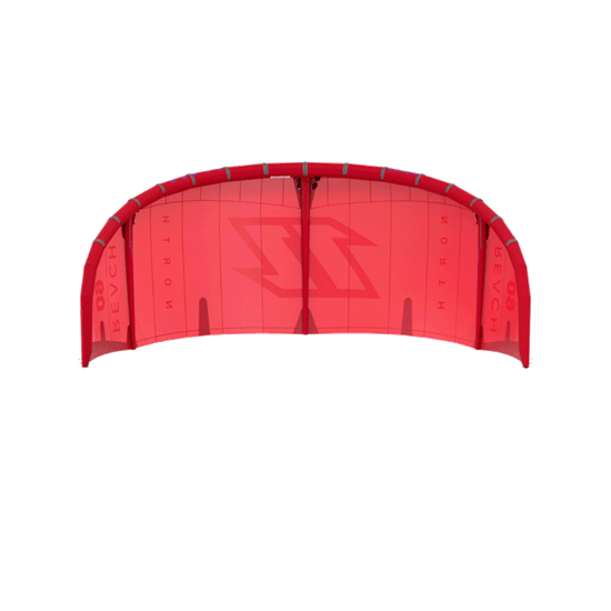 Picture of Kite Reach Sunset Red