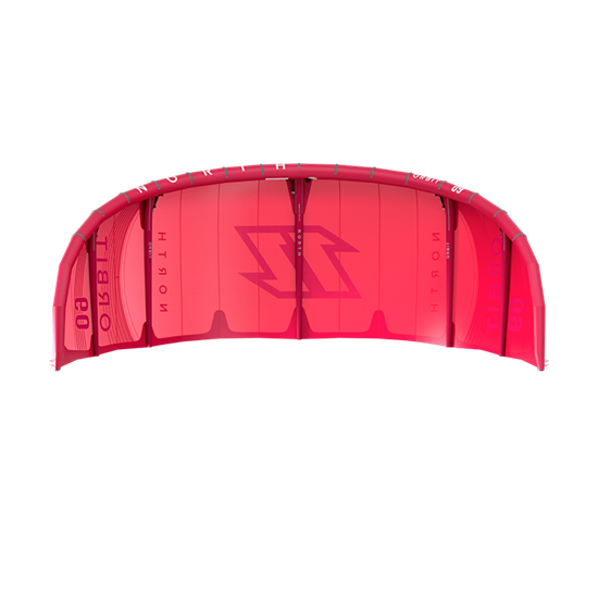 Picture of Kite Orbit Sunset Red