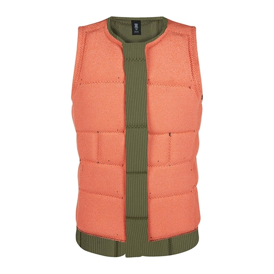 Picture of The Dom Impact Vest Wake Brave Green